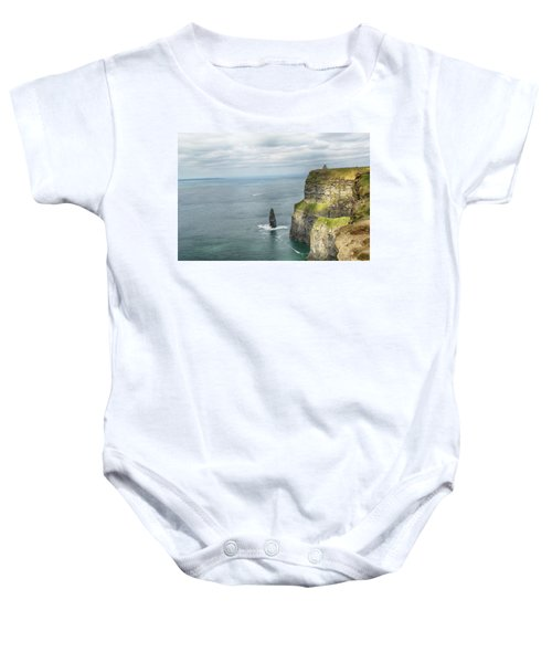 Cliffs Of Moher 3 Baby Onesie