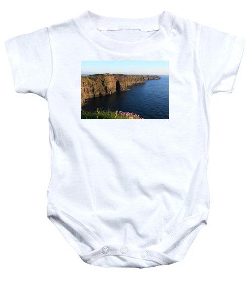Cliffs Of Moher In Evening Light Baby Onesie