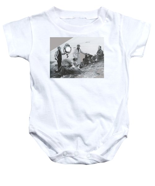 Clifton Young And Bogie Fight To The Death Dark Passage 1947-2016 Baby Onesie