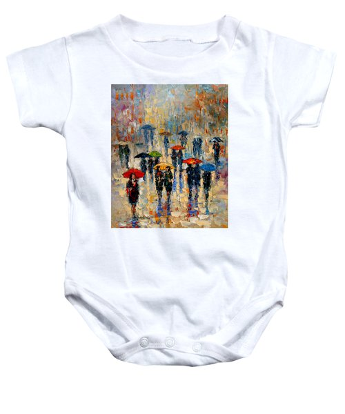 Cloudy Day Baby Onesie by Andre Dluhos