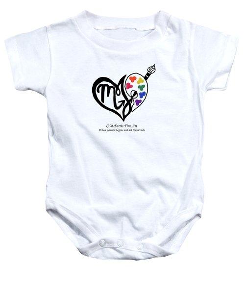 Cmfarris Logo Brand Baby Onesie