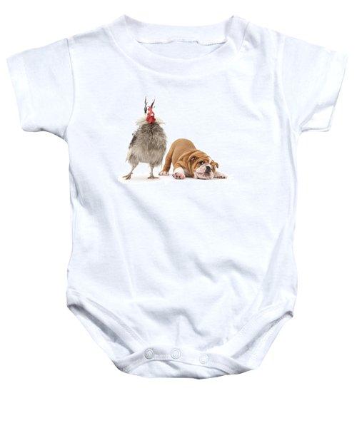 Cock N Bull Baby Onesie