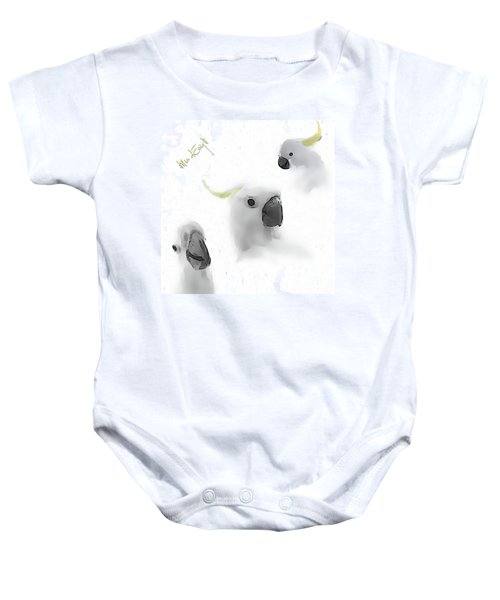 Cockatoos Baby Onesie by iMia dEsigN