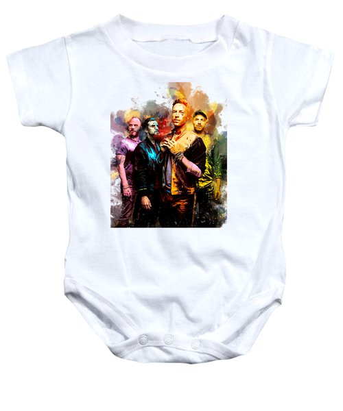 Coldplay Baby Onesie by Rinaldo Ananta