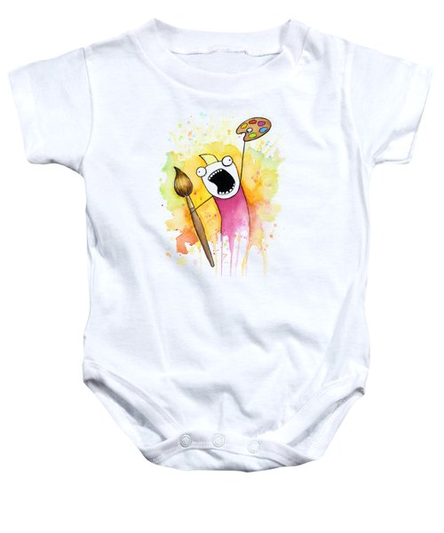 Color All The Water Baby Onesie