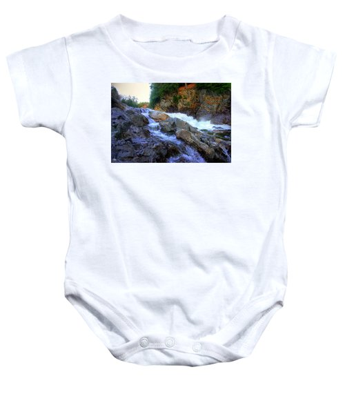 Color Steps At Livermore Falls Baby Onesie