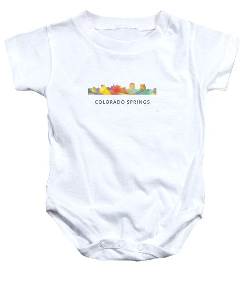 Colorado Springs Colorado Baby Onesie