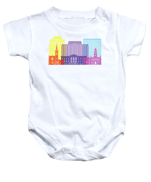 Colorado Springs_v2 Skyline Pop Baby Onesie