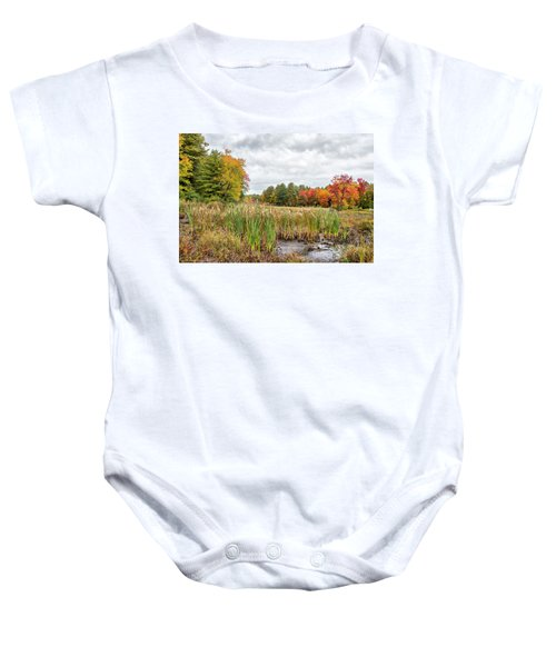 Colorful Webster Bog Baby Onesie