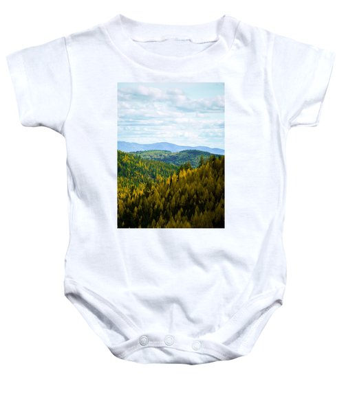 Colors Of Sherman's Pass Baby Onesie