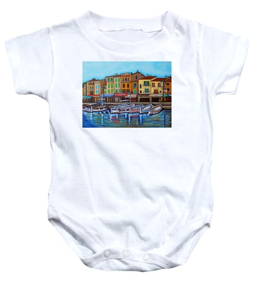 Colours Of Cassis Baby Onesie