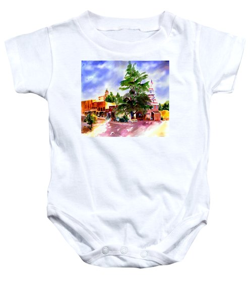 Commercial Street, Old Town Auburn Baby Onesie