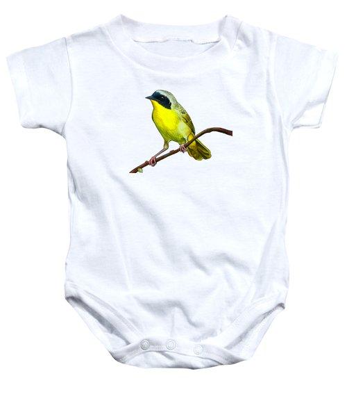 Common Yellowthroat Baby Onesie