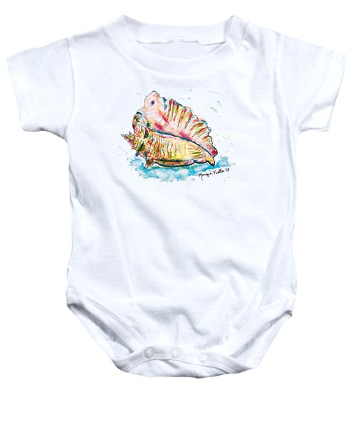 Conch Shell Baby Onesie