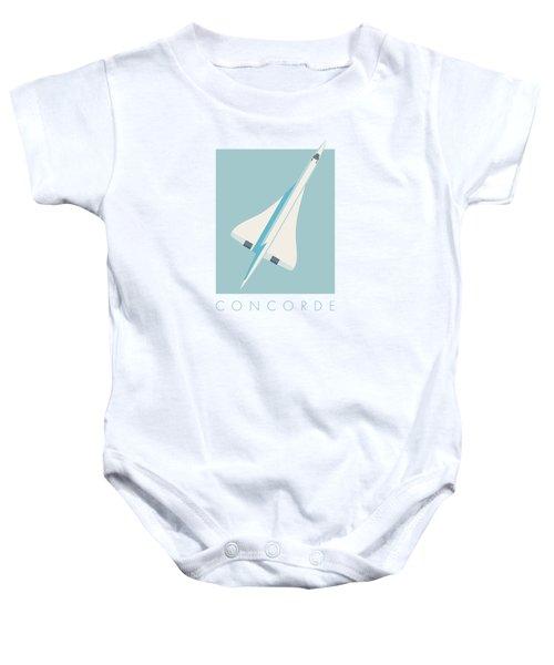 Concorde Jet Airliner - Sky Baby Onesie