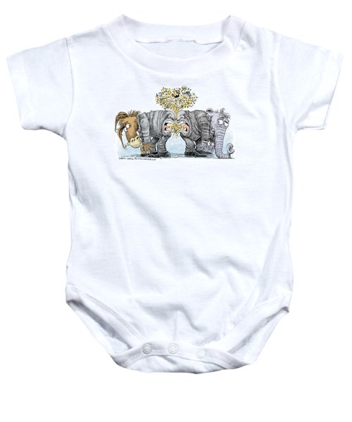 Congress Talking Out Of Their Butts Baby Onesie