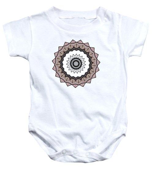 Construction Mandala By Kaye Menner Baby Onesie