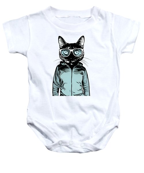 Cool Cat Baby Onesie