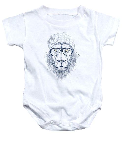 Cool Lion Baby Onesie
