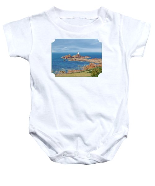 Corbiere Lighthouse Jersey Baby Onesie