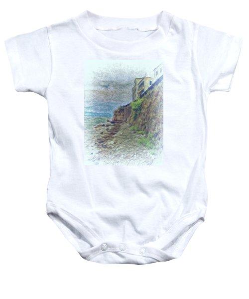 Corfu 33 - Corfu Rocks Baby Onesie