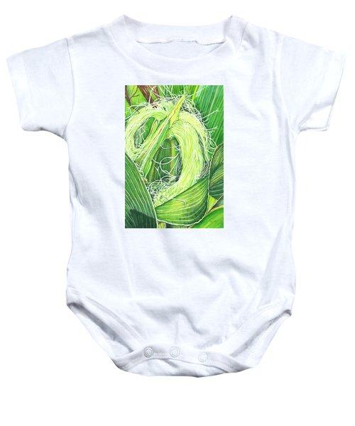 Corn Silk Baby Onesie