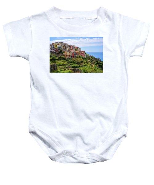 Corniglia Cinque Terre Italy Baby Onesie
