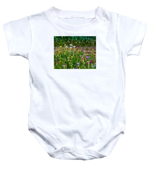 Country Wildflowers II Baby Onesie