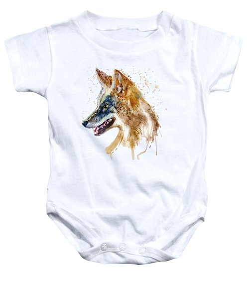 Coyote Head Baby Onesie