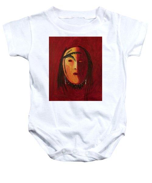 Crazy Horse Baby Onesie