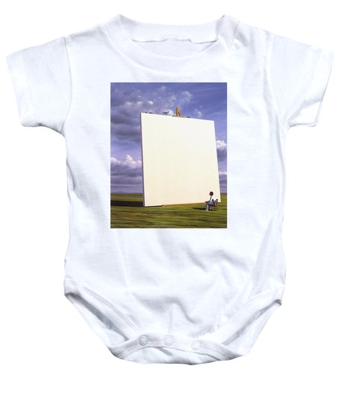 Creative Problems Baby Onesie