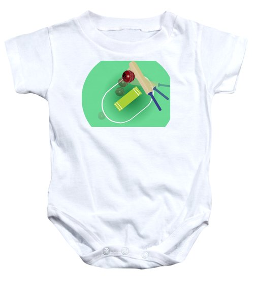 Cricket Baby Onesie by Smita Kadam