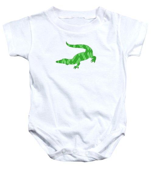 Crocodile Baby Onesie by Mordax Furittus