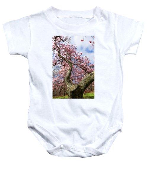 Crooked Magnolia Baby Onesie