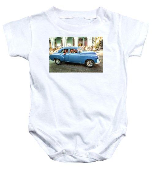 Cuban Taxi Baby Onesie