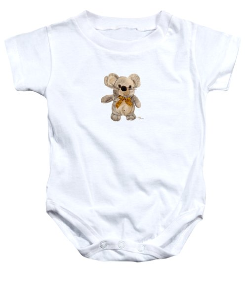 Cuddly Mouse Baby Onesie