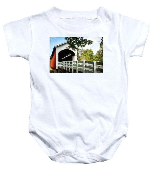 Currin Bridge Baby Onesie