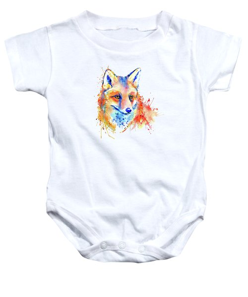 Cute Foxy Lady Baby Onesie by Marian Voicu