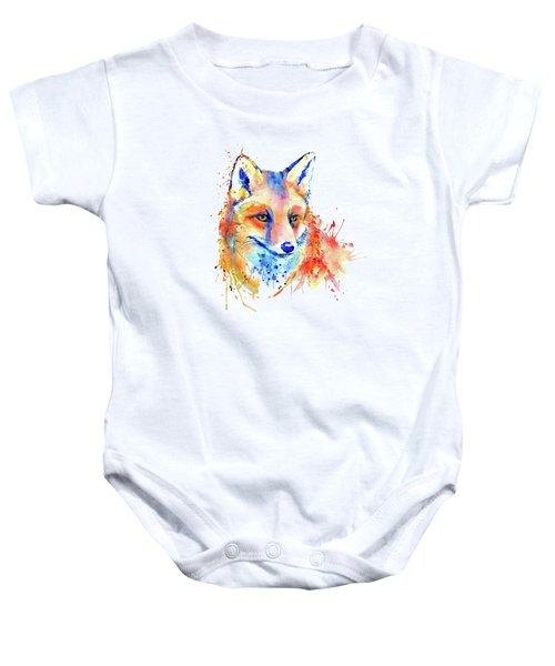 Cute Foxy Lady Baby Onesie