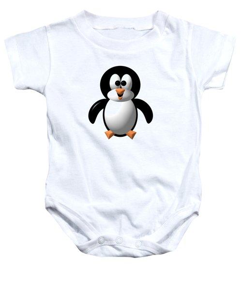 Cute Pengie The Penguin  Baby Onesie