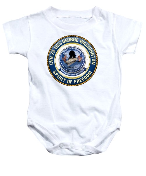 Cvn-73 Uss George Washington Baby Onesie