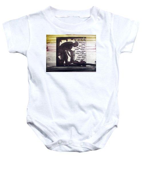 D U Rounds Project, Print 45 Baby Onesie