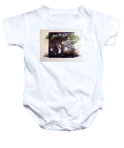 D U Rounds Project, Print 5 Baby Onesie