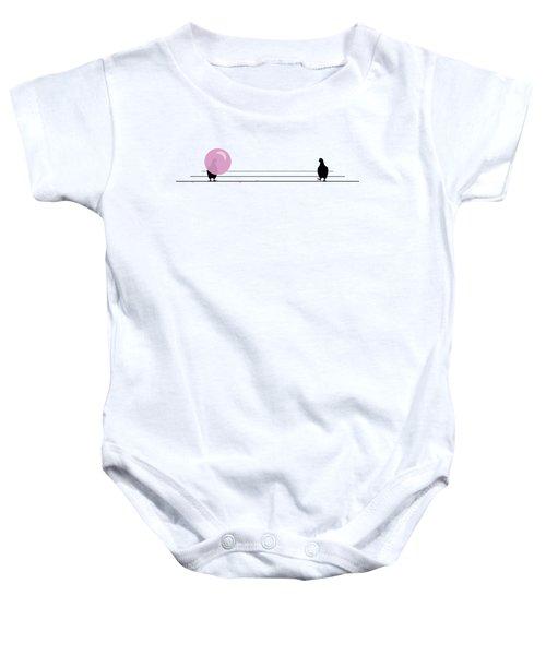 Dagum Bird Baby Onesie by Jennifer Germani