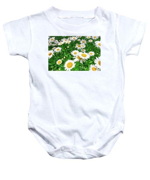 Daisy Garden Baby Onesie