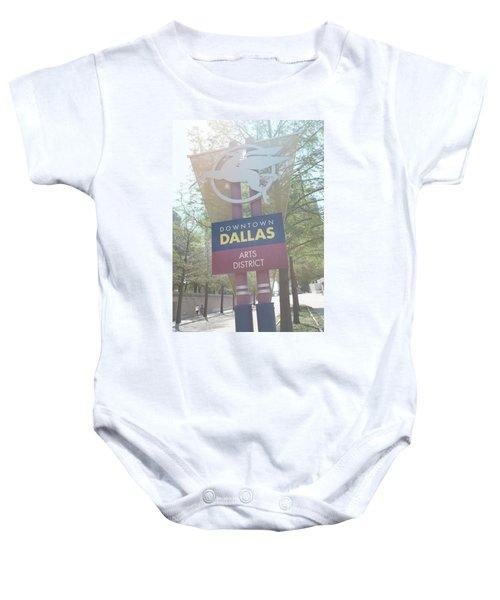 Dallas Arts District Baby Onesie