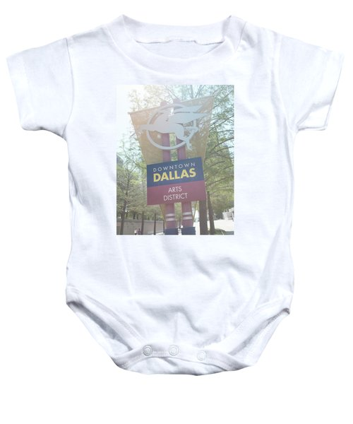 Dallas Arts District Baby Onesie