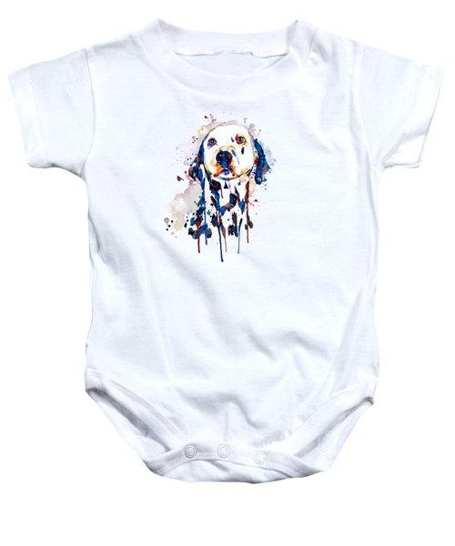 Dalmatian Head Baby Onesie