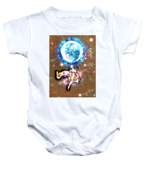 Dance Me To The Moon Baby Onesie