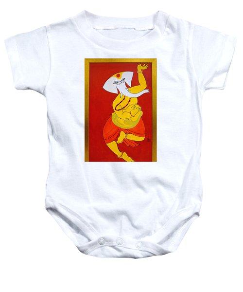 Dancing Ganesha Baby Onesie